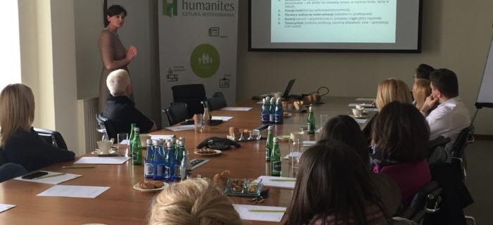 Co się działo 23 marca na Czwartkowym spotkaniu z Humanites?