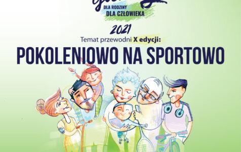 """""""Pokoleniowo na Sportowo"""" – Kamil Stoch zaprasza do 10. edycji Dwie Godziny dla Rodziny/Dwie Godziny dla Człowieka."""